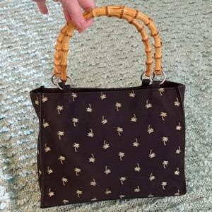 Sunny Hawaii Bags - Sunny Hawaii Bamboo Black Palm Tree Bag